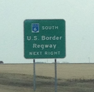 The Much Anticipated Border Crossing
