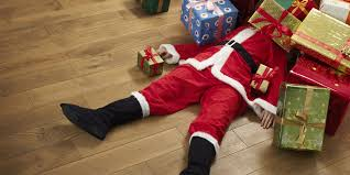 santa collapse